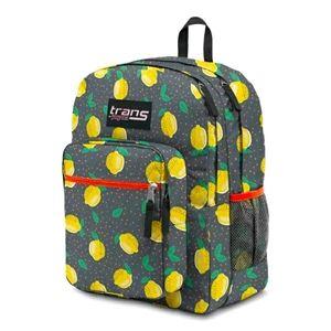 """JanSport 17"""" Supermax Backpack Lovely Lemons  NWT"""